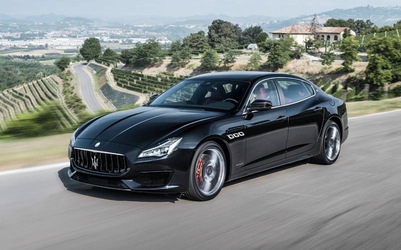 2018 Maserati Quattroporte GTS - left front view