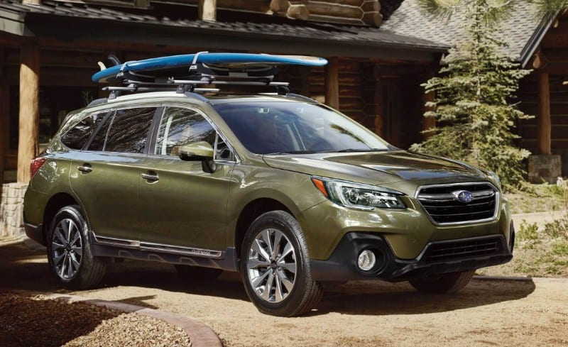 2018 Subaru Outback - right side view