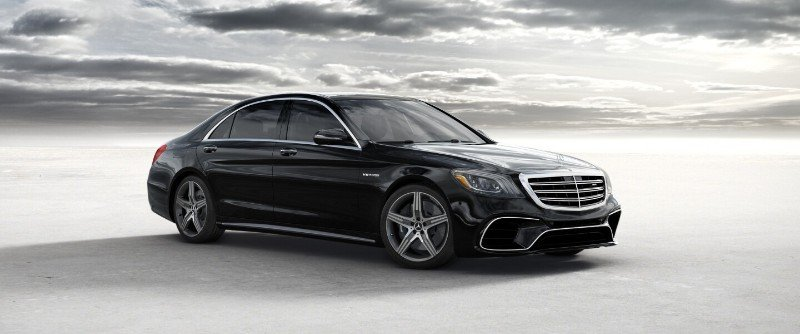 Mercedes-Benz S63 AMG - passenger side view
