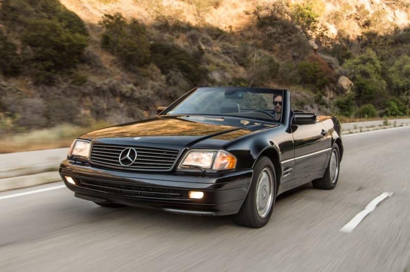 1990-2002 Mercedes-Benz SL front three quarter