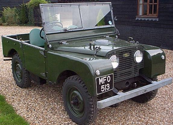 History Of Land Rover 1