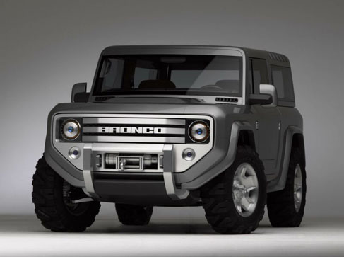 The 2015 Ford Bronco