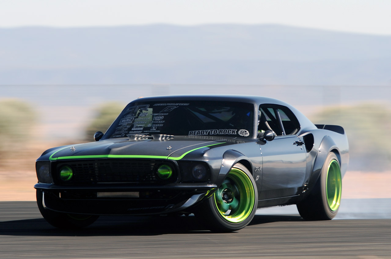 The 1969 ford mustang rtr x