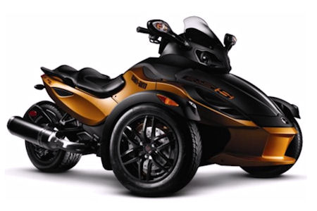 2013 can am spyder roadster. Black Bedroom Furniture Sets. Home Design Ideas
