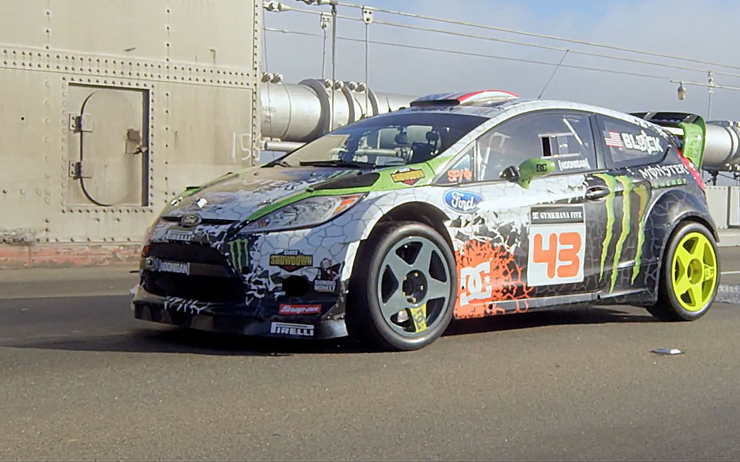 the 2012 ford fiesta hfhv rally car the gymkhana master. Black Bedroom Furniture Sets. Home Design Ideas