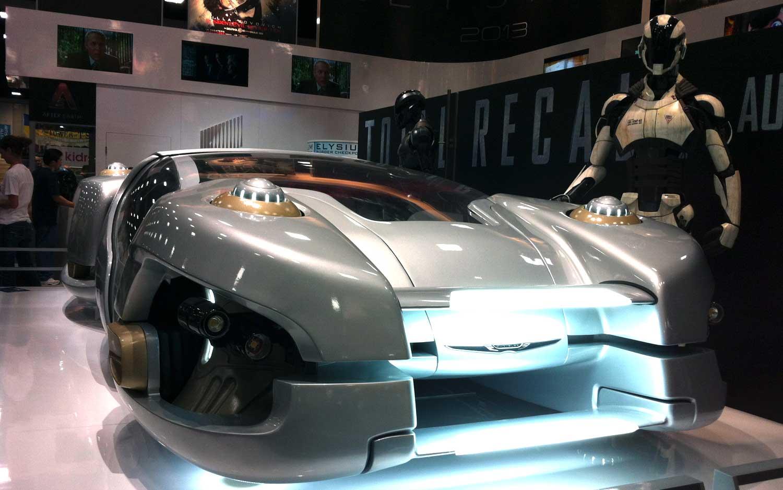 The 2084 Chrysler Hover Car