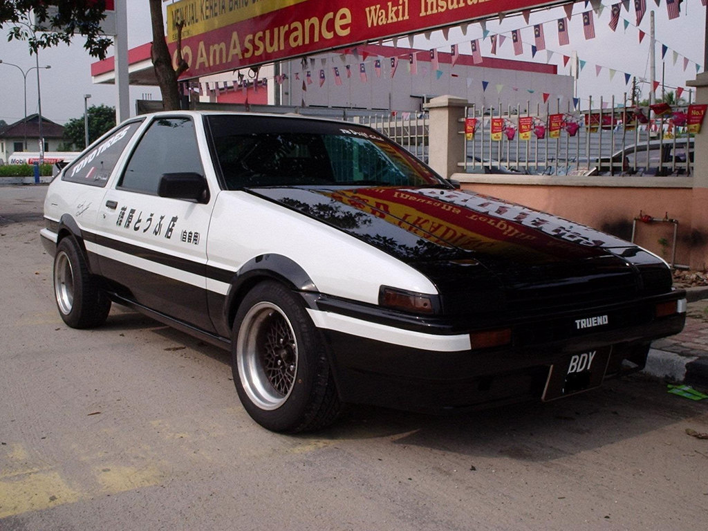 Jdm Cars For Sale >> The Toyota AE86. Gofather of Drift.