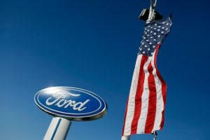 ford american flag