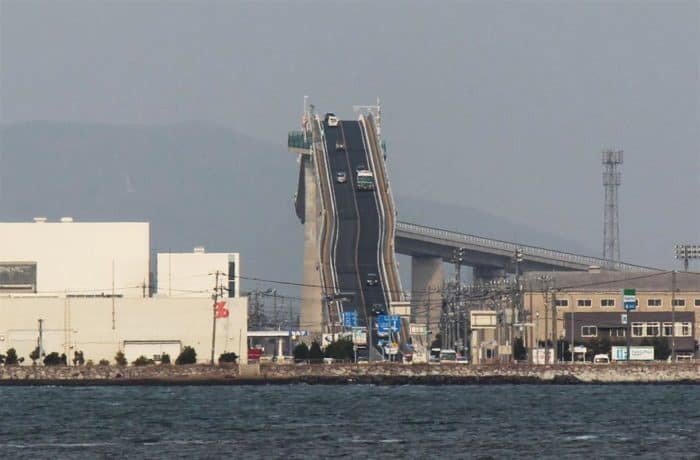 Eshima Ohashi Bridge, Japan