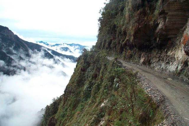 North Yungas Road (Bolivia) Clouds