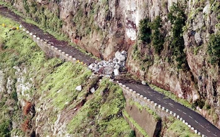 The Yungas Road (Bolivia) Landslide