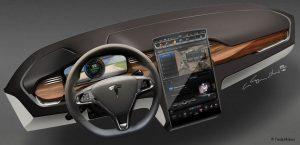 "Model X 17"" Touchscreen Control Panel"