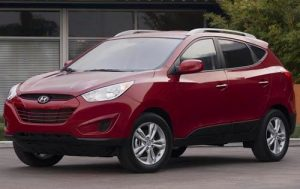 2012 Hyundai Tucson Red