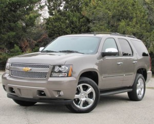 2012 Chevy Tahoe Silver