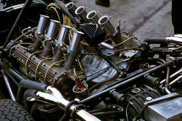 A Repco F1 engine from 1966