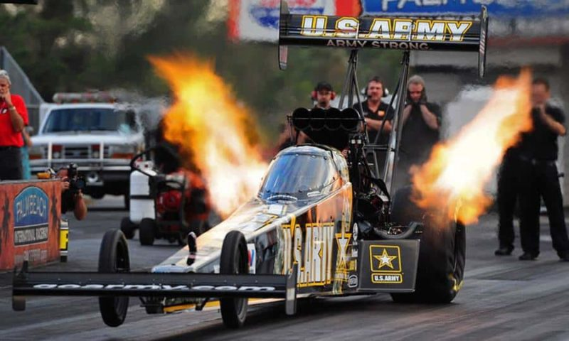 A Top Fuel Dragster