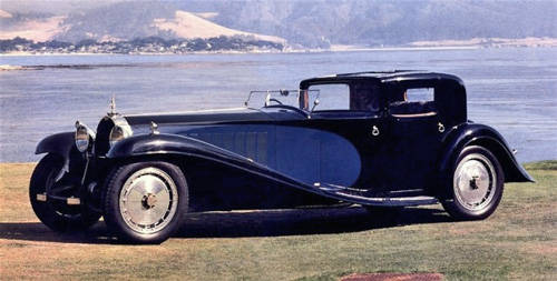 1931 Bugatti Royale Kellner Coupe - Rarest Car In The World