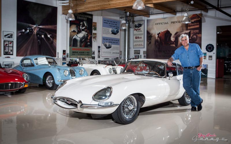 Jay Leno's Garage Top 10 Car Shows on TV
