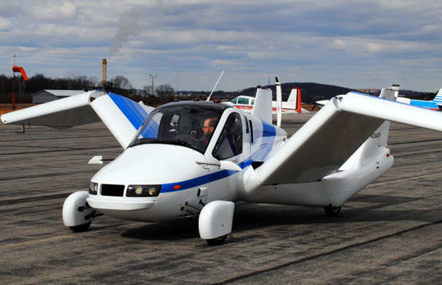 The Transition flying car