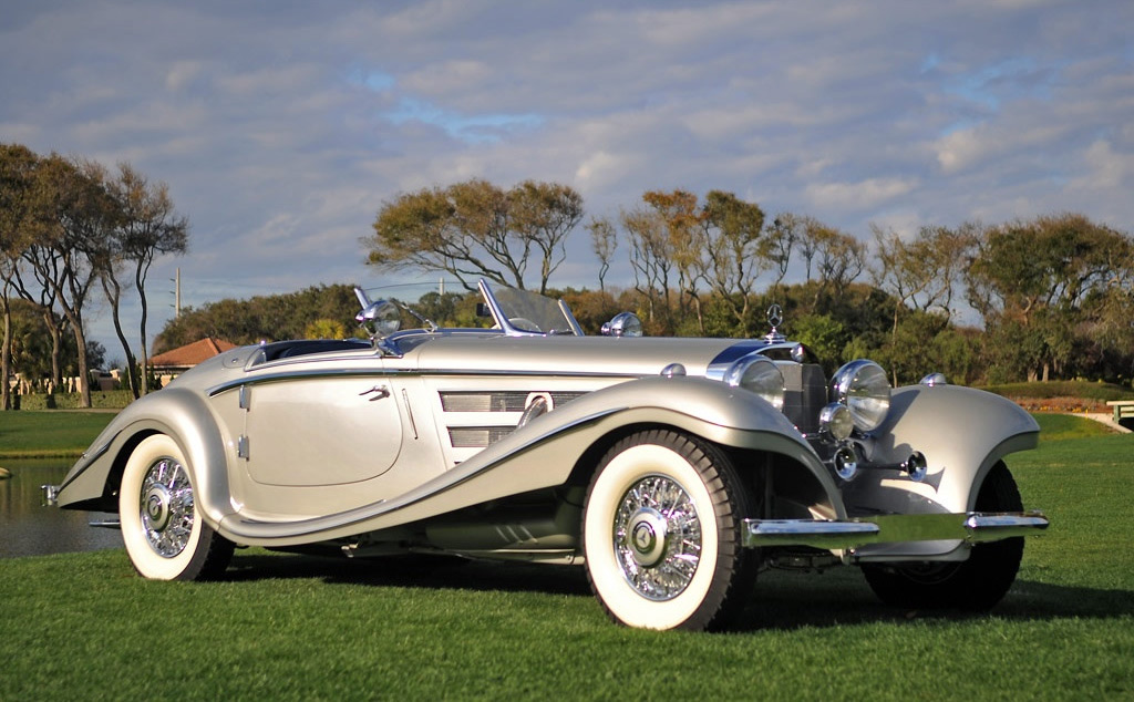 1937 Mercedes-Benz 540K Special Roadster - The Most Expensive Car In The World Of All Time?