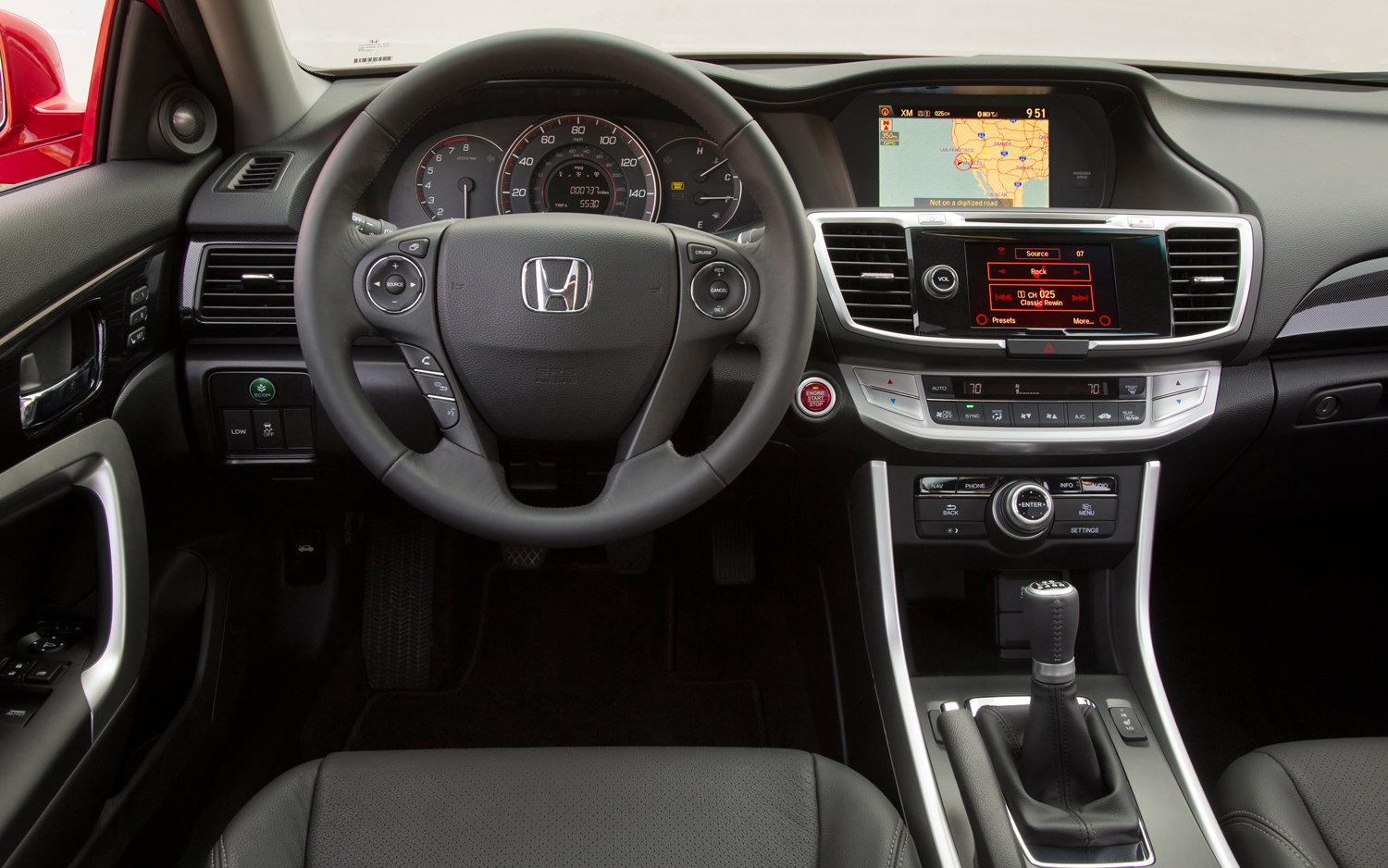 Captivating 2013 Honda Accord Interior