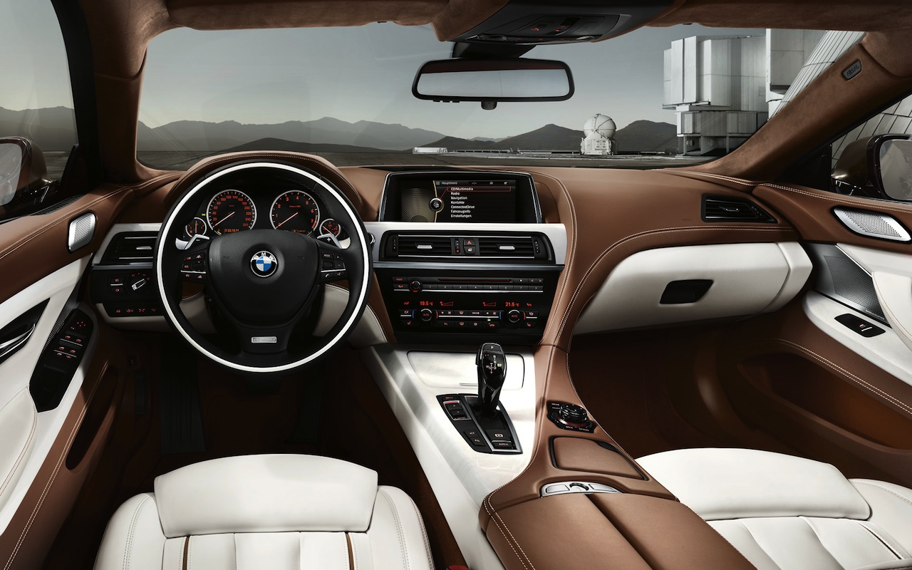 BMW bmw 6 gran coupe 2015 : bmw-6-series-gran-coupe-interior - AutoWise