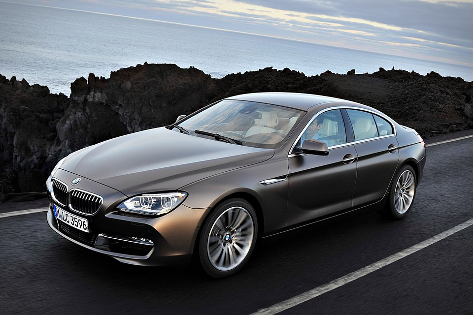 bmw 6 series gran coupe a sedan designed as a sports coupe. Black Bedroom Furniture Sets. Home Design Ideas