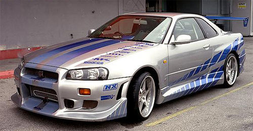 Fast and Furious GTR Modified