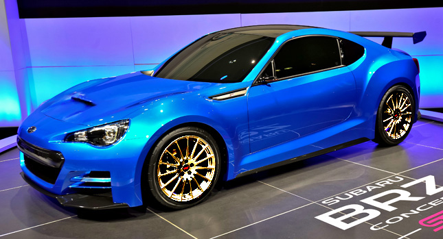 Getting a Glimpse at the 2015 Subaru BRZ STI