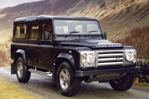 Foreign Cars Not Sold In USA - Land Rover Defender 110