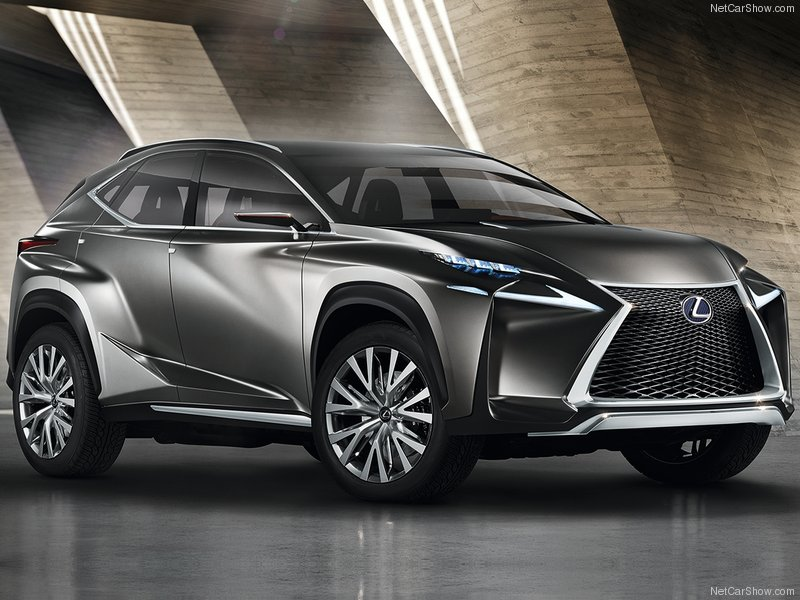 With Their Extremely Angular Physically Perplexing Lf Nx Crossover Concept First Off This Thing Is Hideous I Know That It S My Opinion