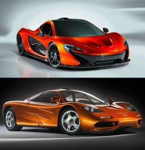 McLaren F1 Specs vs McLaren P1 Stats 2