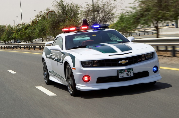 The Dubai Police Dept Real Life NFS Rivals Sort Of