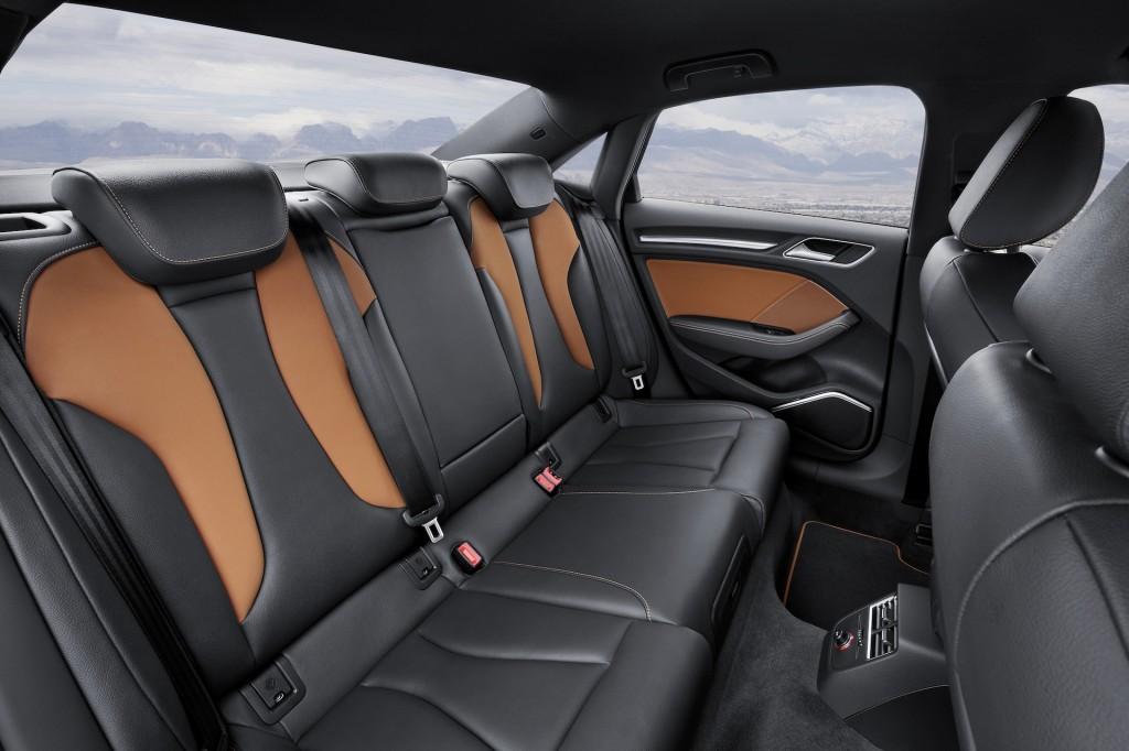 2015 Audi A3 Rear Seats
