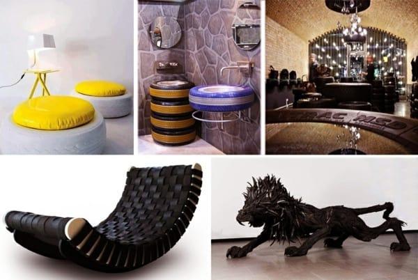 Indoor Tire Furniture Ideas