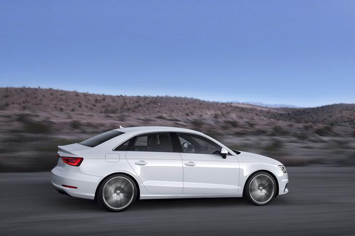 2015 Audi A3 Side View