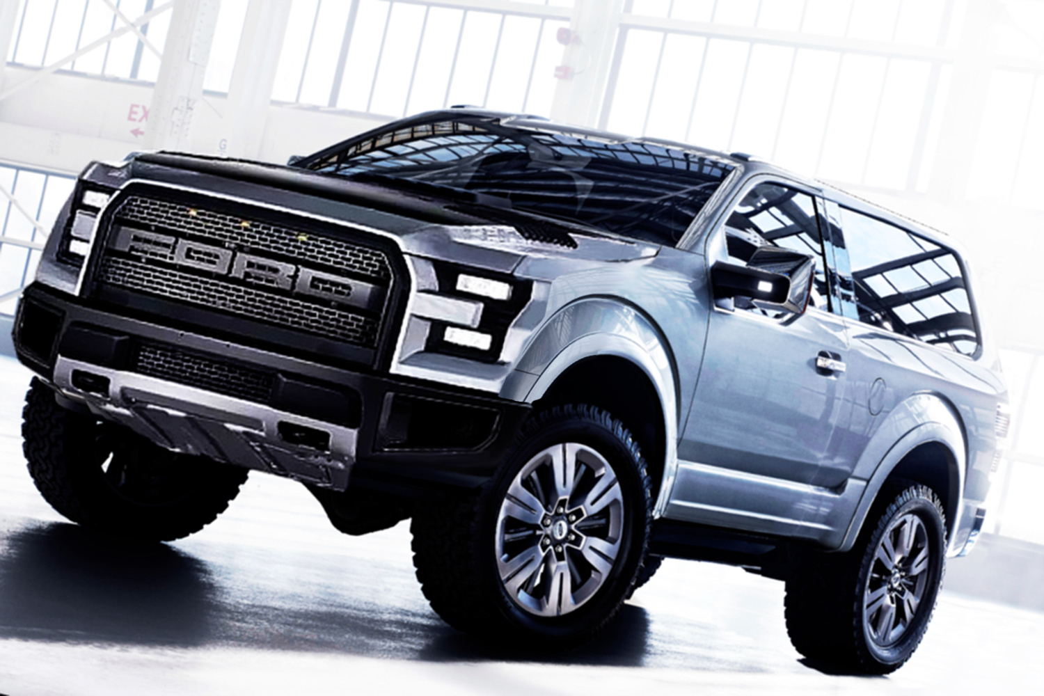 New Ford Bronco And Ranger Concept 2