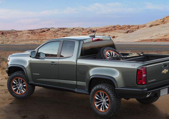 2015 Chevy Colorado Zr2 To Include Duramax Diesel