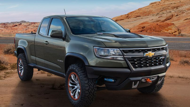2015 Chevy Colorado ZR2 To Include Duramax Diesel