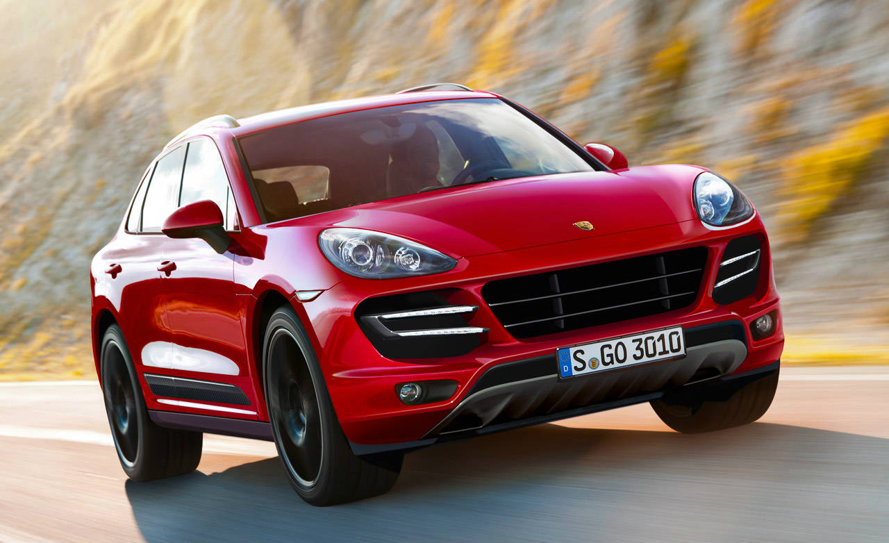 base model 2015 porsche cayenne and gts to debut at l a auto show. Black Bedroom Furniture Sets. Home Design Ideas
