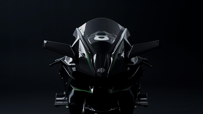 Kawasaki H2R Supercharged Superbike