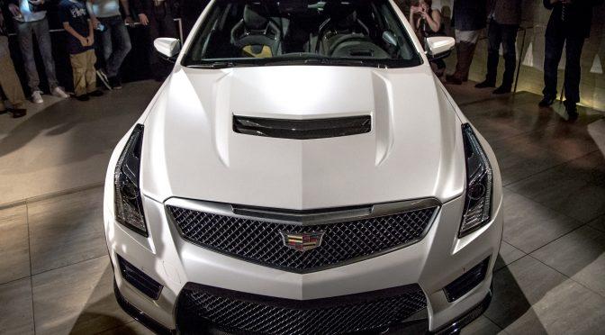 New Cadillac ATS-V