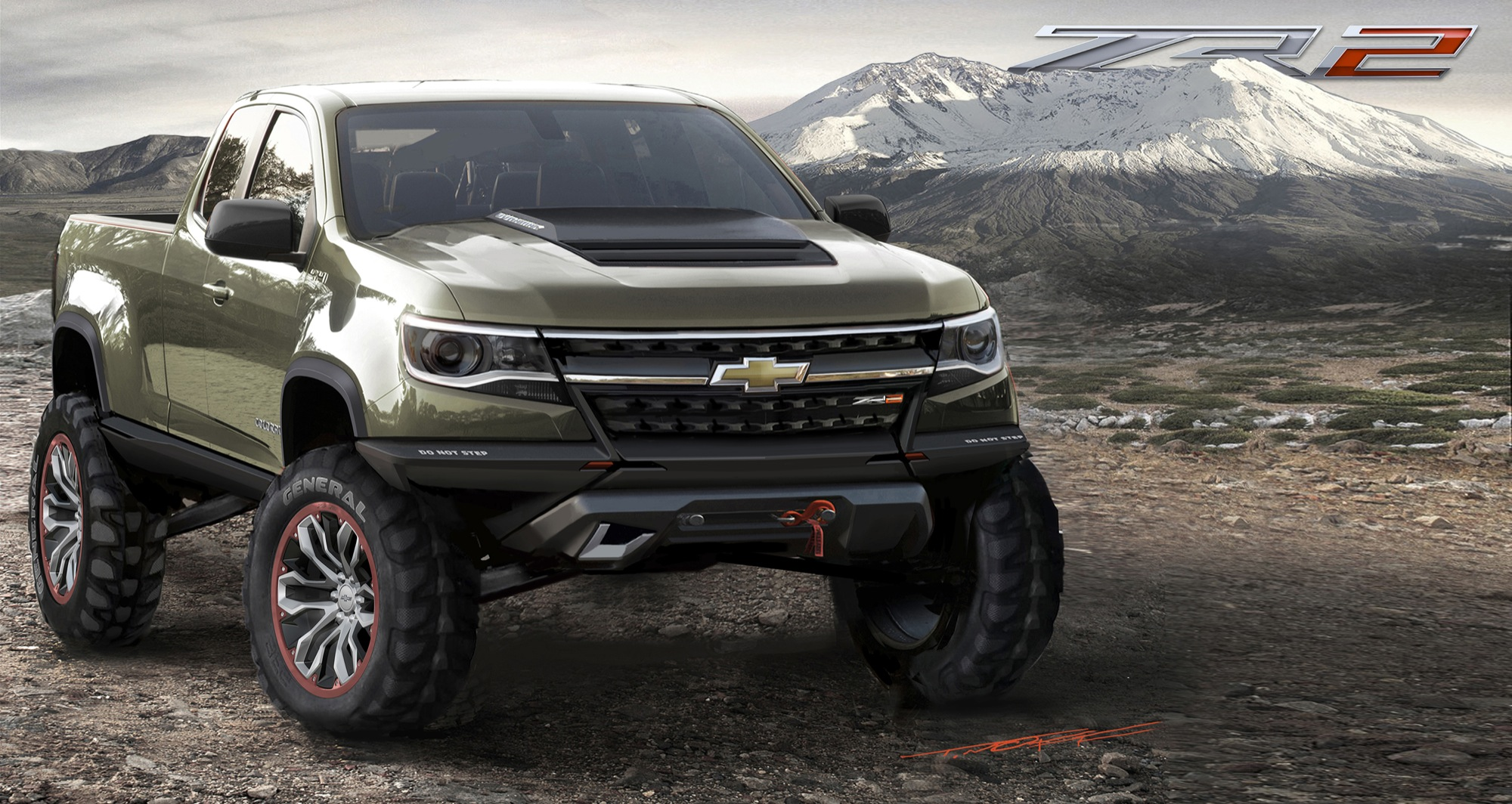 2015 chevy colorado zr2 to include duramax diesel gear heads. Black Bedroom Furniture Sets. Home Design Ideas