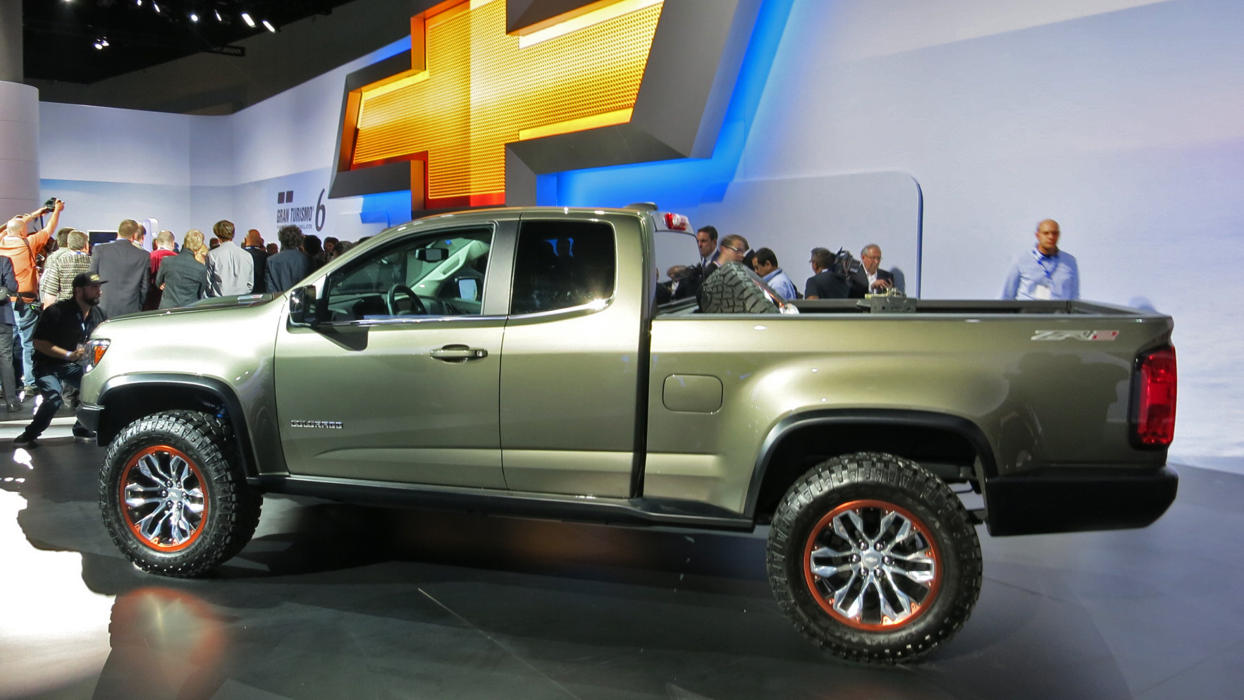 New Chevy Colorado ZR2 at LA Auto Show