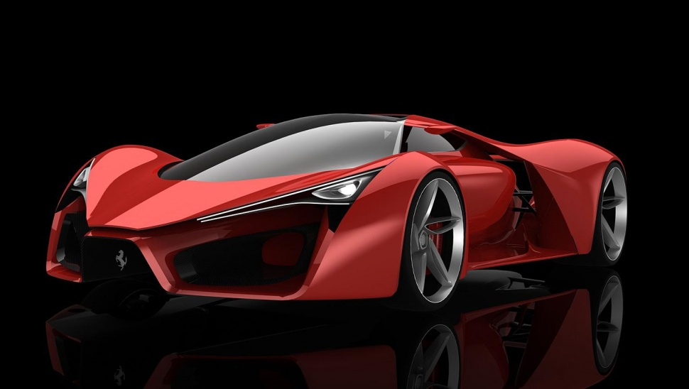 Insane Power In the Ferrari F80 Concept