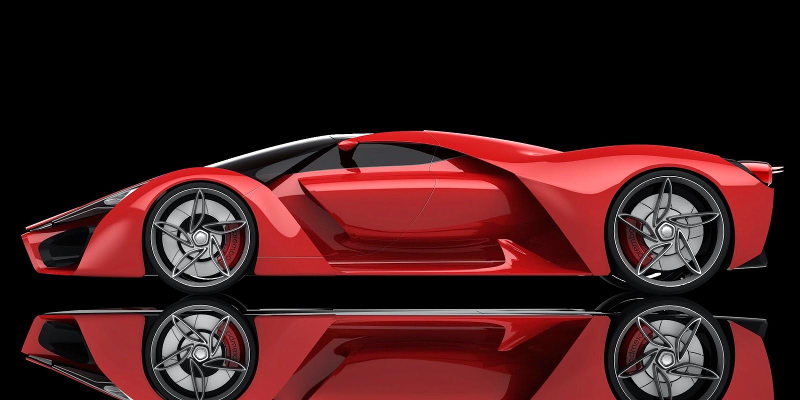Perfect Ferrari F80 Concept