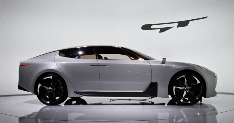 All-New 2017 Kia GT Concept Production Already Set for 2017