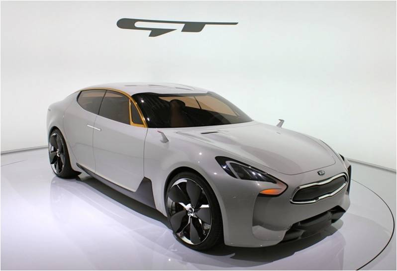 All New 2017 Kia Gt Concept Production Already Set For 2017