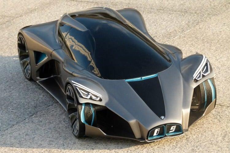 BMW i9 Front Side Top 2016