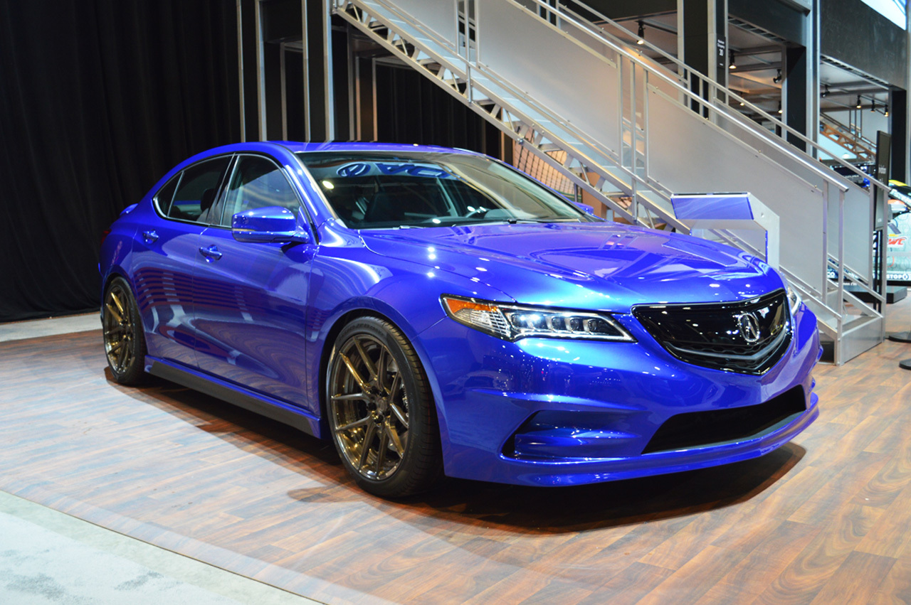 gas modified 2015 acura concept tlx debuts at the 2014 sema show. Black Bedroom Furniture Sets. Home Design Ideas